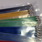 Plastic Coating Stainless Steel Cable Tie